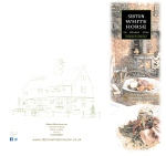 Bespoke design of Sibton White Horse Menus - Covers