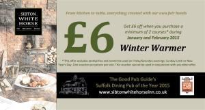 SWH Winter Wamer voucher